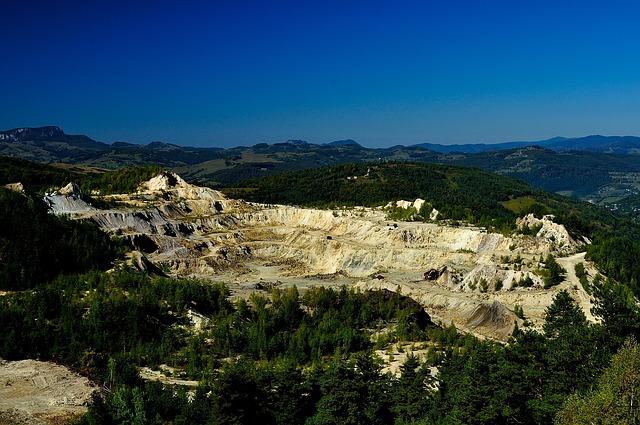 guldaktier i gruvbolag